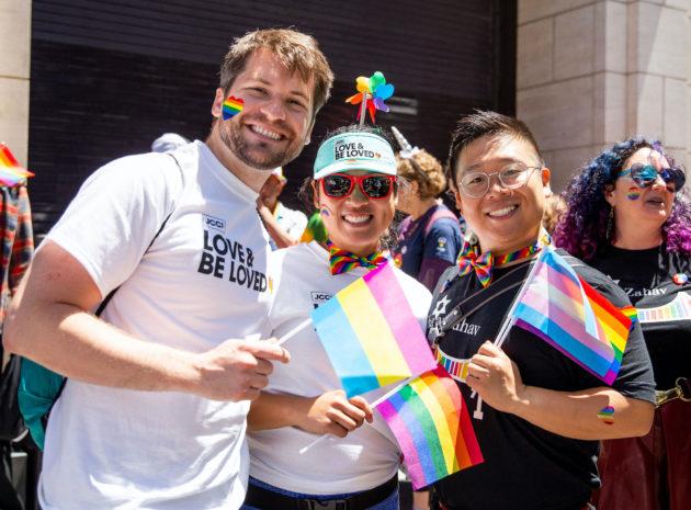 Participants at San Francisco Pride Parade