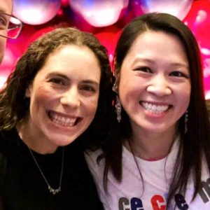 Smiling JCCSF volunteers