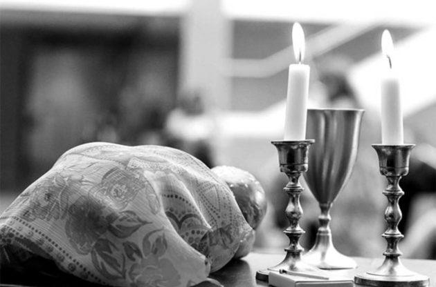 Shabbat altar
