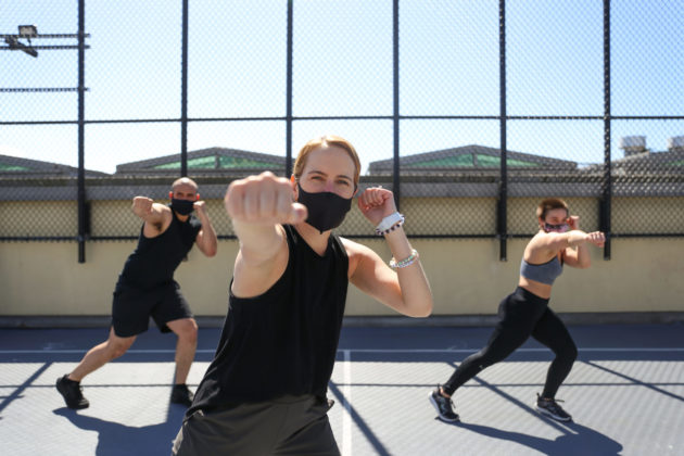 outdoor fitness at JCCSF