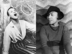Harry Belafonte and Zora Neale Hurston