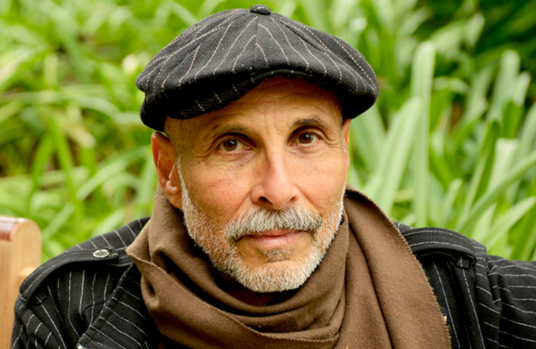 Photo of Elias Ramer in a cap and scarf